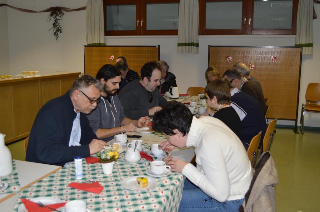 31 C&B Frühlingsfest in der Bujattigasse 24.02.2018_ bei einer gemütlichen Jause